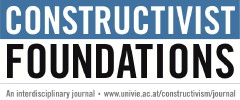 CONSTRUCTIVIST FOUNDATIONS
