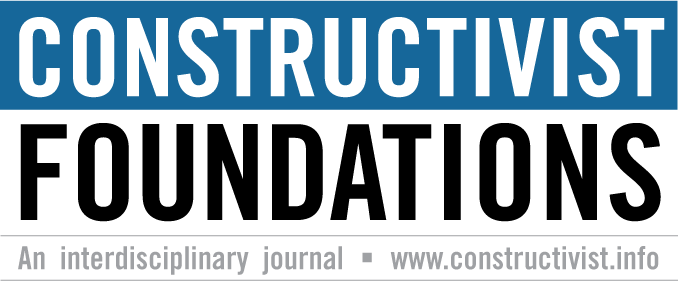 Constructivist Foundations: Special Issues